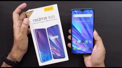 Realme 5 pro caja