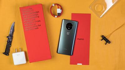 OnePlus 7T contenido caja
